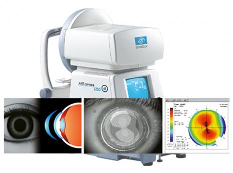 אוטורפרקטומטר akr cornea 500