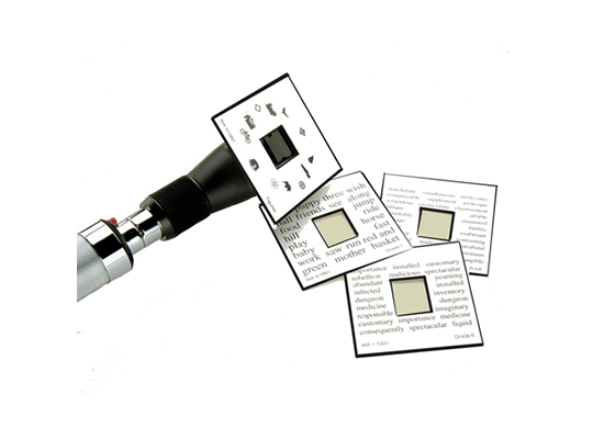 Welch Allyn Fixation Card Set for Retinoscopes