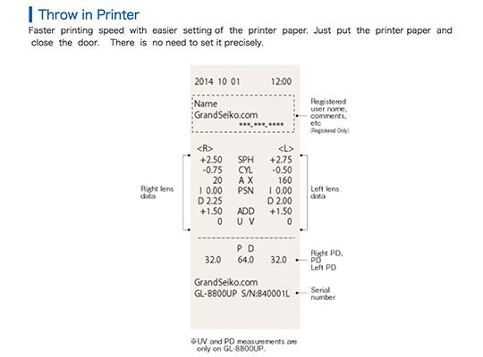 לנסמטר ממוחשב gl 8800 grand seiko
