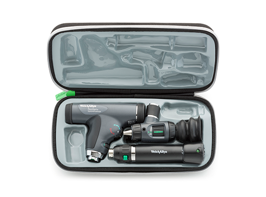 Welch Allyn 3.5 V Halogen HPX Diagnostic Set including PanOptic Ophthalmoscope with Cobalt-Blue Filter