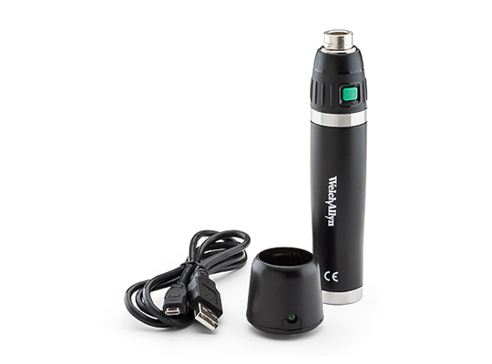 Welch Allyn 3.5 V Rechargeable Power Handle; USB Charging Module with USB Charge Cord; Lithium-Ion (#71960) Battery