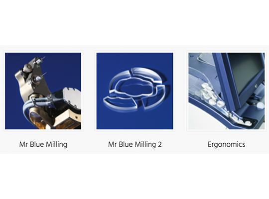 מכונת חיתוך עדשות אסילור mr blue 2.0