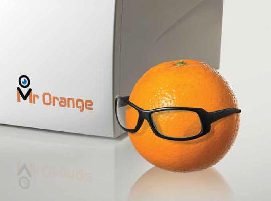 מכונת חיתוך עדשות אסילור mr orange