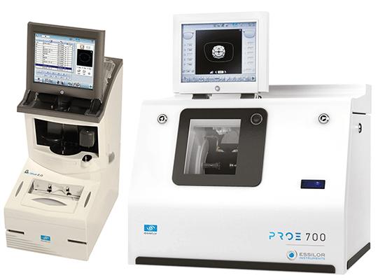 מכונת חיתוך עדשות אסילור pro e700
